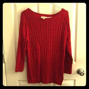 Ann Taylor LOFT Cable Knit Sweater!